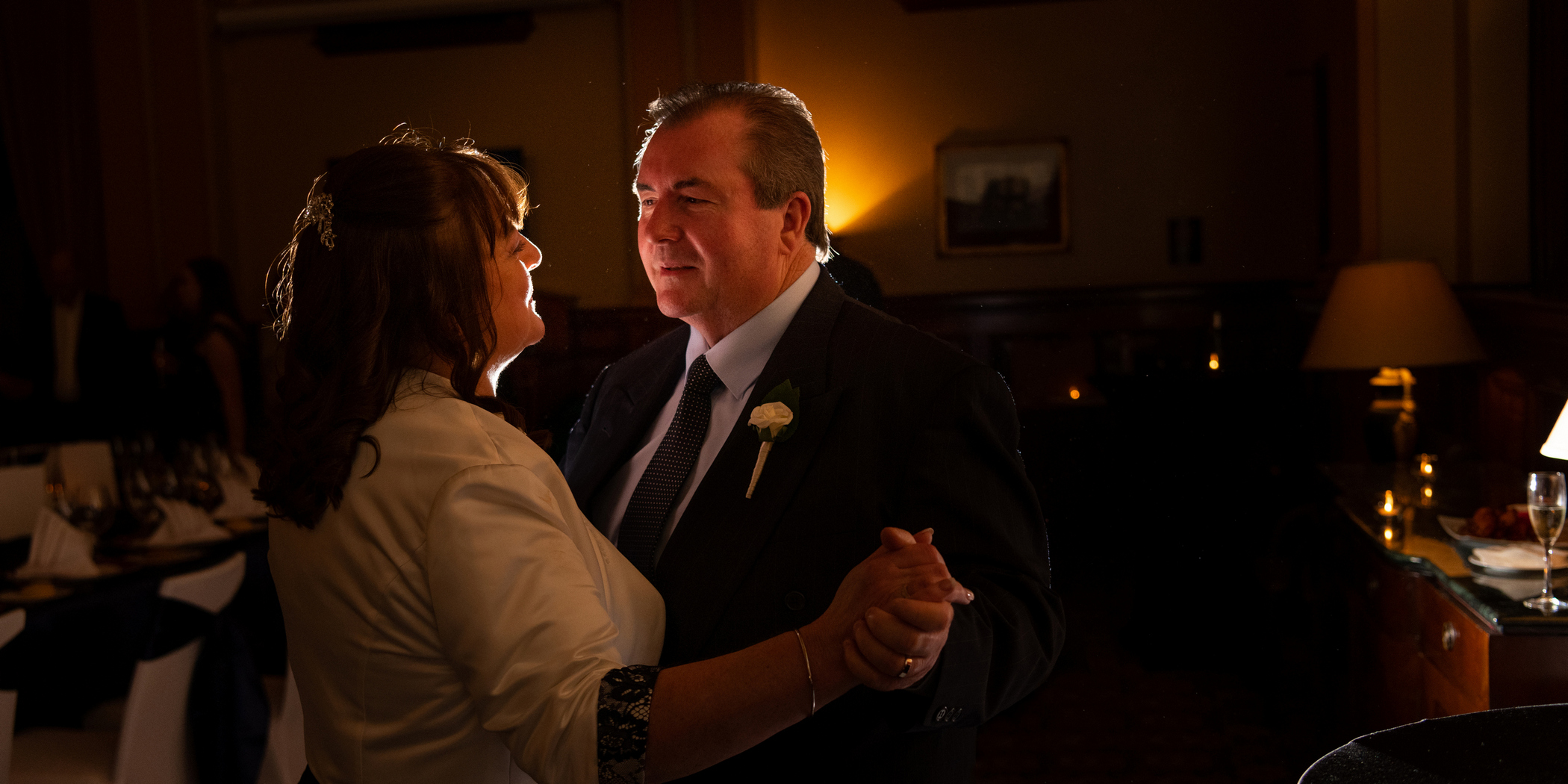 First dance wedding photo at treasury building Brisbane
